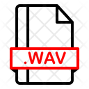 Wav Extension File Icon
