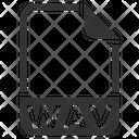 Wav Document File Icon