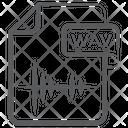 Wav File File Extension File Format Icon