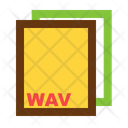 Wav Ile Format Icon