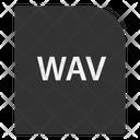 Wave Audio File File Extension Icon
