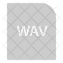 Wave Audio File Extension File Icon