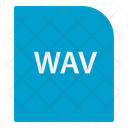 Wave Audio File Extension File Icon