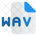 Wav File Audio File Audio Format Icon