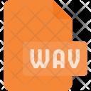 Wav Audio File Icon