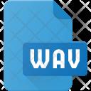 Wav Audio Sound Icon