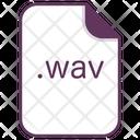 Wav File Document Icon