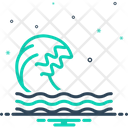 Wave Ripple Backwash Icon