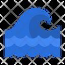 Wave Sea Ocean Icon