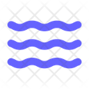 Wave Sea Ocean Icon