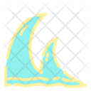 Wave Swell Summer Icon