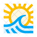 Sea Ocean Wave Icon