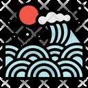 Wave Sea Japan Icon