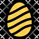 Wave Decoration Egg Icon