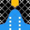 Wave Diagram Icon