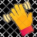 Wave Hand Hello Icon