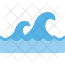 Water Waves Splash Icon