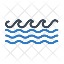 Sea Waves River Icon
