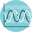 Waves Graphic Sound Icon