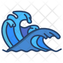 Waves Water Sea Icon