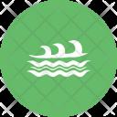Waves Sea Ocean Icon