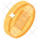Waves Coin Digital Money Bitcoin Technology Icon