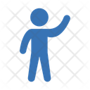 Waving Icon