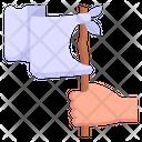 Waving Flag Icon