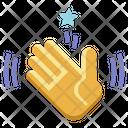 Waving Hand Icon