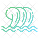 Wavy Pool Water Wave Wave Icon