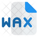 Wax File Audio File Audio Format Icon