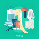 Waxing Skin Foot Icon