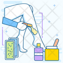 Waxing Epilation Depilation Icon