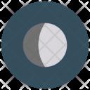 Waxing Gibbous Moon Icon