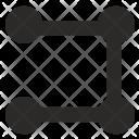 Way Pointer Line Icon