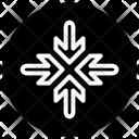 Way Arrow Path Icon