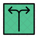 Arrow Direction Road Icon