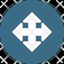 Way Direction Arrow Icon