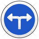 Ways Left Right Icon