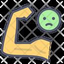 Weak hand Icon