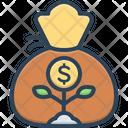 Wealth Cash Finance Icon