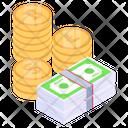 Cash Wealth Finance Icon