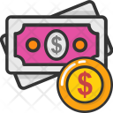 Wealth Investment Cash Icon