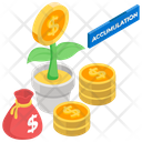 Wealth Accumulation Icon