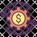 Iwealth Management Dollar Wealth Management Dollar Wealth Icon