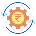 Wealth Management Rupee Icon