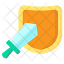 Game Weapon Shield Icon
