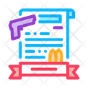 Weapon Certificate Icon