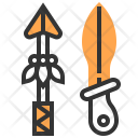 Weapons Security Arrow Icon