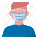 Wear Mask Covid Protection Icon